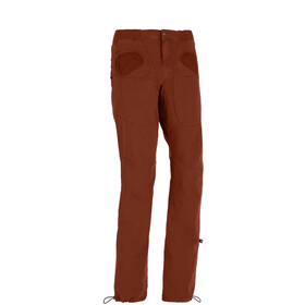 E9 Rondo Slim Pantalones Hombre, brick